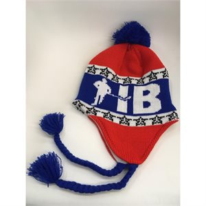 Tuque Red-White-Blue SMALL-6XL