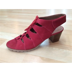 Nola Red Nubuck X-Large