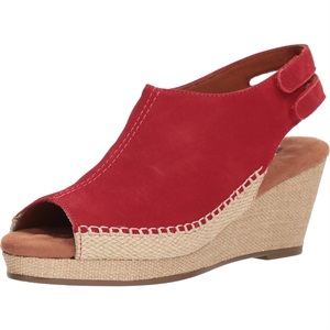 Anikka Red Nubuck 13 Narrow